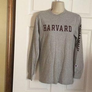 Harvard Long Sleeve Tee Top